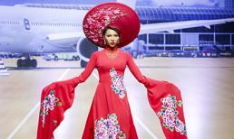 Minh Triệu lộng lẫy như một 'bà hoàng' trên sàn catwalk