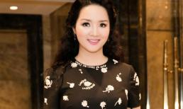 Hoa hậu Giáng My đẹp rạng rỡ sau khi được con gái làm stylist