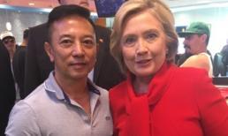 Bà Hillary Clinton thưởng thức món ăn Việt tại Lee's Sandwiches, Las Vegas