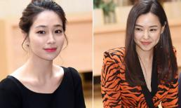 Lee Min Jung đẹp 'lấn át' Hoa hậu Hàn Honey Lee tại sự kiện
