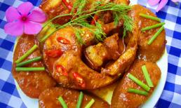Cá kho chuối xanh đậm đà, ngon cơm