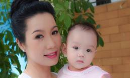 Diễn viên Trịnh Kim Chi xinh đẹp bên con gái út