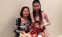 Ngọc Quyên rạng rỡ mừng con trai tròn 2 tháng tuổi