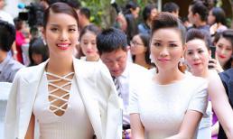Xuân Nguyễn 'hội ngộ' hoa hậu Lan Khuê tại sự kiện 'Nhà báo và nghệ sĩ'