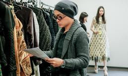 Công Trí làm việc quần quật chuẩn bị cho Tokyo Fashion Week