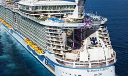 Choáng ngợp trước sự xa hoa của du thuyền lớn nhất thế giới