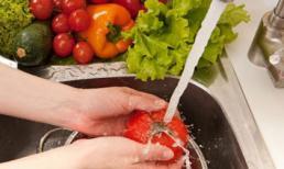 Tuyệt chiêu loại bỏ thuốc trừ sâu khỏi rau củ