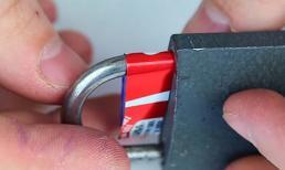 Mẹo mở khóa trong vòng vài giây không cần tới chìa khóa