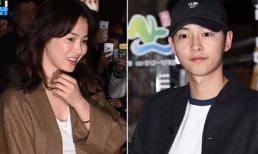 Song Joong Ki và Song Hye Kyo vui vẻ 'hẹn hò' ăn tối