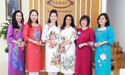 Thương hiệu Áo dài Peony tôn vinh vẻ đẹp phụ nữ Việt