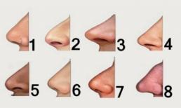 Đọc vị tính cách con người qua dáng mũi