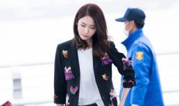 Yoona (SNSD) nổi bật tại sân bay sau khi 'soán ngôi' Song Joong Ki
