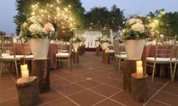 Lãng mạn tiệc cưới mang phong cách Pháp giữa lòng Sài Gòn