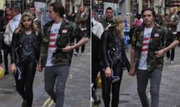 Brooklyn Beckham nắm tay bạn gái Chloe Grace Moretz trên phố