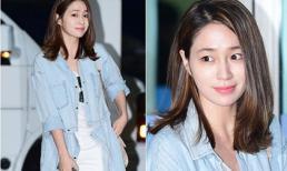 Lee Min Jung khoe vẻ đẹp 'gái một con trông mòn con mắt'