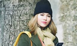 Á hậu Hoàng My đẹp mơ màng trong loạt ảnh mới