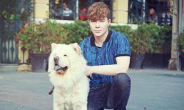 Nathan Lee điển trai đầy cuốn hút xuống phố cùng cún cưng