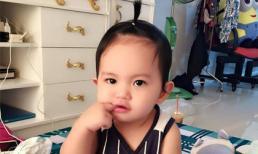 Kiểu tóc 'chống nóng' đáng yêu của con trai Khánh Thi, Phan Hiển
