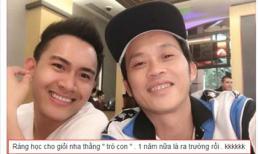 Hoài Linh nhận 'bão like' khi động viên con trai