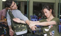 Midu mướt mồ hôi đánh võ cùng trai đẹp mặc Phan Thành có 'tình mới'