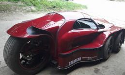 Cận cảnh siêu xe 5 bánh cực ngầu ở Hà Nội