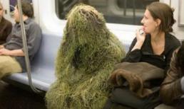 'Cười ngất' với loạt ảnh hài hước trên xe buýt và tàu điện ngầm