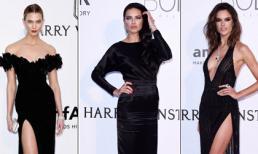 Dàn thiên thần Victoria's Secret lộng lẫy với gam màu đen quyền lực