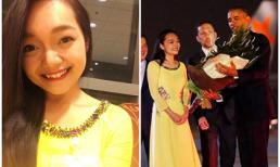 Nữ sinh Việt tặng hoa cho tổng thống Barack Obama là ai?