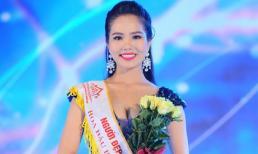 Dương Kim Ánh đăng quang Người đẹp Áo Dài tại cuộc thi Hoa hậu Biển 2016