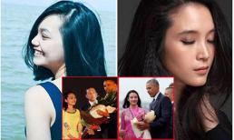 Cận cảnh vẻ đẹp của 2 cô gái tặng hoa cho Tổng thống Barack Obama