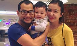Vợ chồng Huỳnh Đông chưa muốn con trai theo nghệ thuật