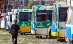 Kiếm 'bộn tiền' nhờ dùng xe buýt cũ làm khách sạn tình nhân