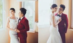 Hé lộ ảnh cưới của 'gái quê' Lê Phương