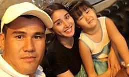 Phan Thanh Bình thân thiết với vợ cũ, cùng đưa con gái đi chơi