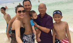 Hồng Ngọc rạng rỡ đi du lịch cùng gia đình nhà chồng