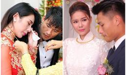 Lý do nào khiến sao Việt 'khóc như mưa' trong ngày cưới?