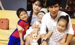 Gia đình Lý Hải tổ chức sinh nhật cho con gái tại nhà