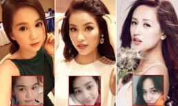 'Bóc trần' vẻ đẹp thật đôi mắt thiên thần của sao Việt