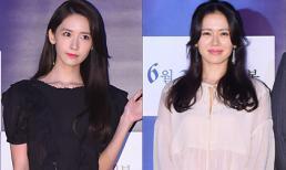 U40 Son Ye Jin vẫn đẹp ngang ngửa đàn em Yoona (SNSD) tại sự kiện