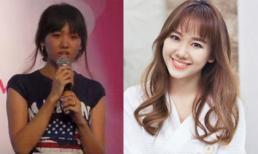 Lộ clip thời đem nhẻm, ốm nhom khi tham gia cuộc thi hát của Hari Won
