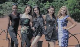 Thúy Vân gặp lại Top 5 Hoa hậu Quốc tế tại Nhật Bản