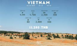 Cảnh đẹp ở Việt Nam xuất hiện trên trang du lịch nổi tiếng của Thái Lan