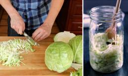 Tại sao dưa bắp cải là 'vũ khí' giảm béo, ngừa ung thư và bệnh tim?