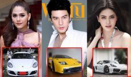 Top 5 ngôi sao Thái Lan sở hữu siêu xe đắt đỏ