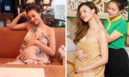Hồng Quế vẫn xinh đẹp không tưởng khi mang bầu gần 7 tháng