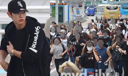 Fans náo loạn đường phố khi thấy các mỹ nam nhóm Exo xuất hiện