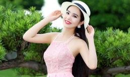 Hoa hậu Dương Kim Ánh tinh khôi giữa thiên nhiên