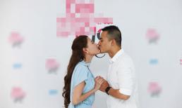 Sau đám cưới, Lương Thế Thành vẫn nồng nàn hôn Thúy Diễm thế này đây!