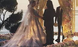 Đám cưới sang chảnh của con gái đại gia bất động sản Nga
