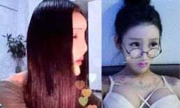 'Bộ mặt thật' khiến nhiều người vỡ mộng của hotgirl Trung Quốc